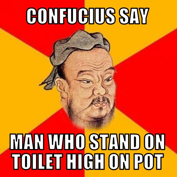 confuscius say meme